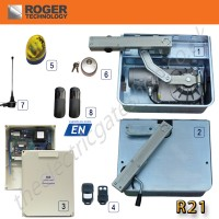 roger r21 underground gate automation kit