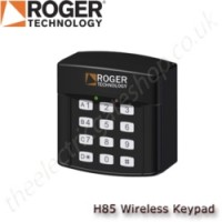 wireless keypad for use with roger technology kits