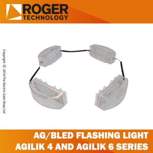 roger technology ag/bled flashing light circuit with 4 led cards for agilik4-agilik6