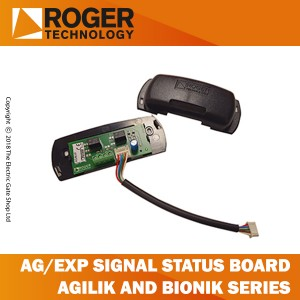 roger technology ag/exp signal status board, 2 output, agilik-bionik series