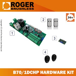 roger brushless b70/1dc/hp 24v digital control panel hardware kit for all 24v roger brushless systems.