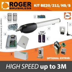 roger technology - be20/210 hs sprint brushless single kit