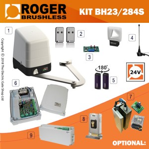 roger technology - arm bh23/284 brushless kit