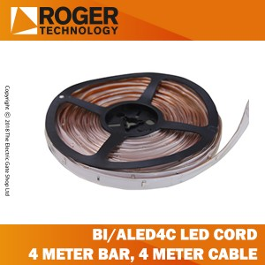 roger technology bi/aled4c luminous led cord for bionik bar