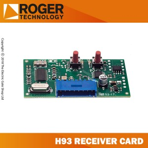 this is the main reciever card used to program remotes onto brushless control panels