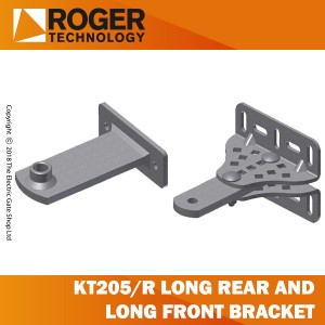 roger technology kt205/r kit of long rear brackets and long front brackets
