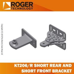 roger technology kt206/r kit of short rear brackets and short front brackets.