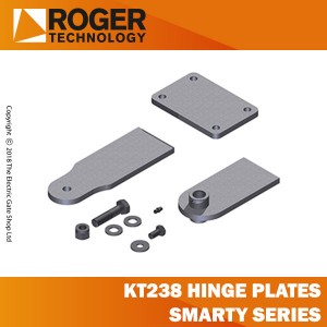 roger technology kit 3 kt238 hinge plates (long) smarty7-smarty7/r series