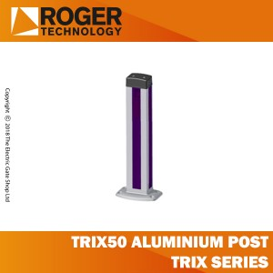 roger technology trix50 aluminium post t90 series, h=500mm.