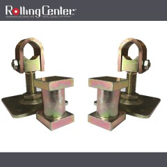rolling centre underground swing gate top hinge set for 30mm box section