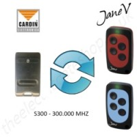 CARDIN Gate Remote 300.000MHZ, Replaced by Jane V Multi-frequency Remote.