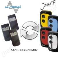 ALLTRONIK Gate Remote 433.920MHZ, Replaced by Jane F Remote.