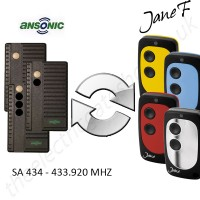 ANSONIC Gate Remote 433.920MHZ, Replaced by Jane F Remote.