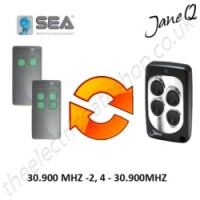 SEA Gate Remote 30.900MHZ, Replaced by Jane Q Low-frequency Remote.
