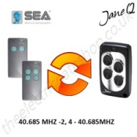 SEA Gate Remote 40.685MHZ, Replaced by Jane Q Low-frequency Remote.