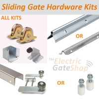 all the hardware components you will need for a gate with the opening between 1200 and 9500mm.