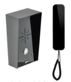 aes slim-cl-imp imperial wired audio intercom system