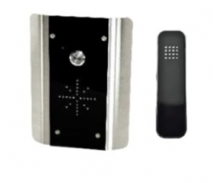 aes slim-hf-ab wired audio intercom system