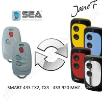 SEA Gate Remote 433.920MHZ, Replaced by Jane F Remote.