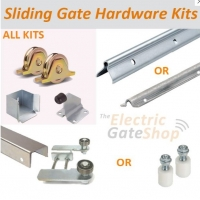 sliding gate hardware kit concrete