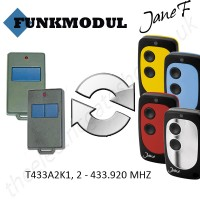 funkmodul gate remote 433.920mhz, replaced by jane f remote.