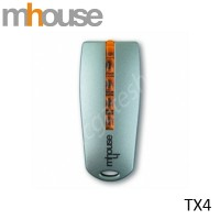 MHOUSE TX4 Remote Control, replaced by MHOUSE GTX4 Remote.