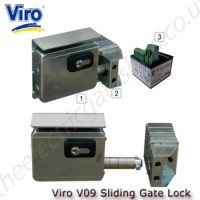 12vac/dc Electric lock for use with sliding gates.