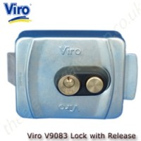 Viro Electric Lock with push button manual release, ideal for use with non automatic gates.
