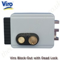 Viro Electric Lock - Block Out 8977 - includes key dead lock. Ideal for gates which need to be locked for periods of time.