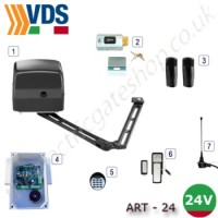 vds 24v articulated arm kit for single gates