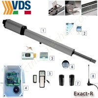 vds exact r single gate kit 24v, ideal for use with single farm gates due to its extending arm.