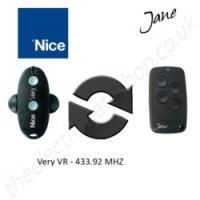Jane Top-A 433.92 Mhz Clone Remote to clone Nice Very VR Gate Remote