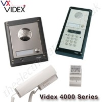 videx 4000 series - surface mounted, up to 12 ways with or without coded entry. 4k-1s 4k-2s 4k-3s 4k-1s/cl