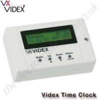 videx 12v ac or dc 701t programmable timer. dry contact 3a rated relay output (co, no & nc) and automatic british summer time correction (bst/gmt).