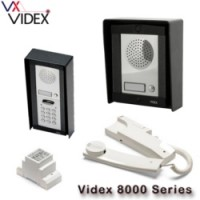 videx 8000 series - surface mounted, up to 12 ways with or without coded entry. 8k-1s 8k-2s 8k-3s 8k-1s/cl