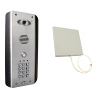 aes wifi-as wireless stainless steel wifi intercom