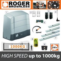 roger brushless bg30/1004/hs high speed kit