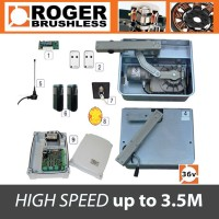 roger brushless - br21/351/hs 36v high speed twin kit
