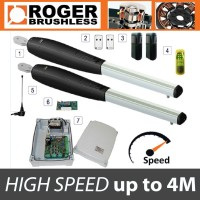 roger technology - brushless smarty 4 high speed twin gate kit