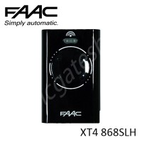 FAAC XT4 868SLH BLACK Remote Control, replaced by FAAC XT4 868SLH Remote.