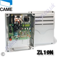 came zl19 twin-leaf swing gate control panel