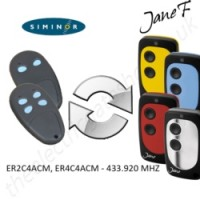 SIMINOR Gate Remote 433.920MHZ, Replaced by Jane F Remote.