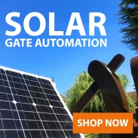 Solar Powered Electric Gates