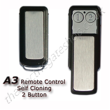 A3 Metal Finished Remote Control Self Learning 433Mhz