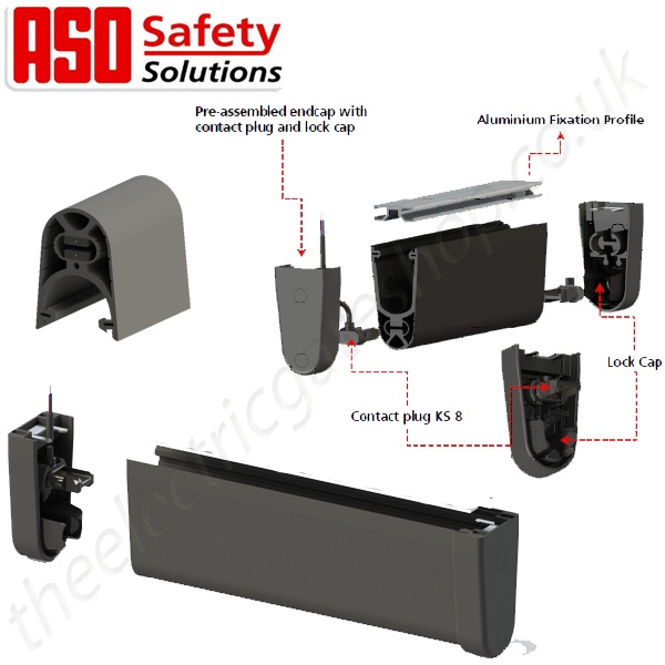 Aso Resistive Gate Safety Edge Ge F45