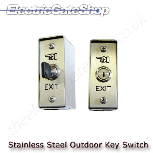 Key Switch Stainless Steel
