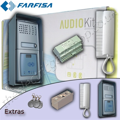Farfisa Audio Intercom With Proximity Reader